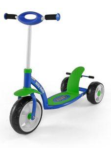 Detská kolobežka Milly Mally Crazy Scooter blue-green - Modrá