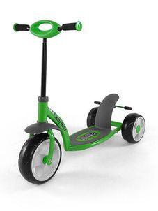 Detská kolobežka Milly Mally Crazy Scooter green - Zelená