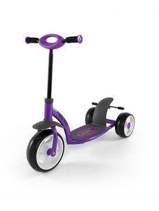 Detská kolobežka Milly Mally Crazy Scooter purple - Fialová