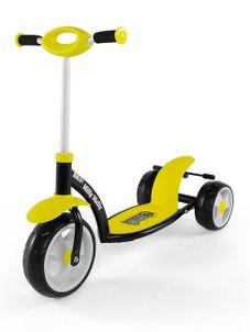 Detská kolobežka Milly Mally Crazy Scooter yellow - Žltá