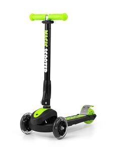 Detská kolobežka Milly Mally Magic Scooter green - Zelená