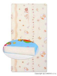 Detská penová matrac béžová - rôzne obrázky - Béžová