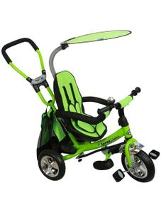 Detská trojkolka Baby Mix Safari green - Zelená
