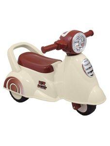 Detské jazdítko so zvukom Baby Mix Scooter white - Biela
