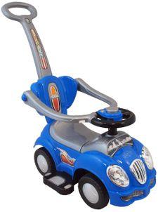 Detské jezdítko 2v1 Baby Mix blue - Modrá