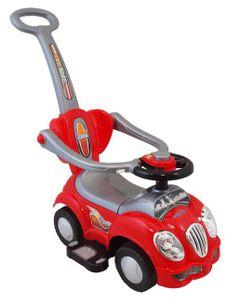Detské jezdítko 2v1 Baby Mix červené - Červená