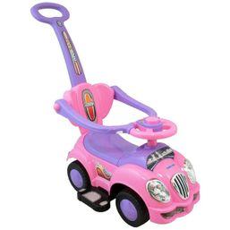 Detské jezdítko 2v1 Baby Mix ružové - Ružová
