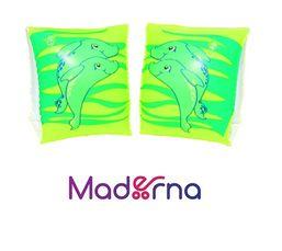 Detské nafukovacie rukávniky Bestway Delfín zelené