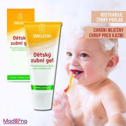 Detský zubný gél 50 ml Weleda