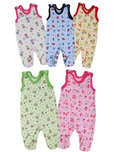 Dojčenské dupačky Bobas Fashion Obláčik - 5 ks - Podľa obrázku