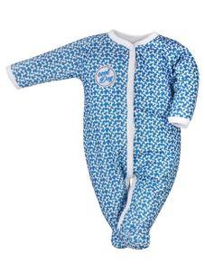 Dojčenský bavlnený overal Koala Cool Dog modrý - Modrá