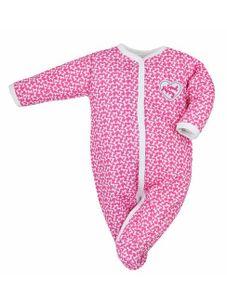 Dojčenský bavlnený overal Koala Cool Dog ružový - Ružová