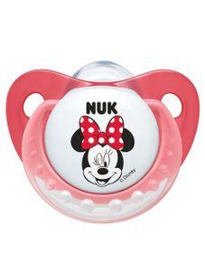 Dojčenský cumlík Trendline NUK Minnie 6-18m ružový - Ružová