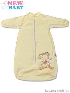 Dojčenský spací vak New Baby béžový - Béžová