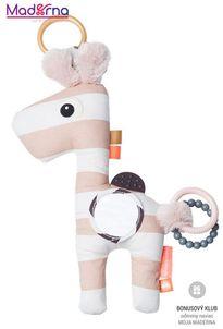 Done by deer aktívna hračka Raffi, ružová
