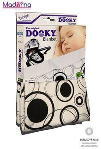 Dooky deka Blanket Black Circles