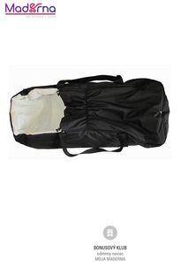DORJAN prenosná taška pre dieťa čierna