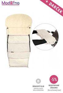 Emitex Fusak Combi 3v1 Deluxe béžový + Rukávník béžová
