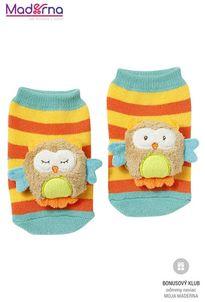 FEHN Forest hrkajúce ponožky sova