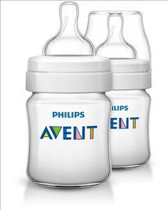 AVENT - Fľaša Klasik PP 125 ml 2 ks