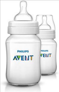 AVENT - Fľaša Klasik PP 260 ml 2 ks