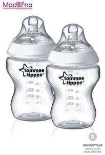 Tommee Tippee Dojčenská fľaša C2N 2ks 260ml, 0m+