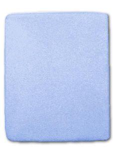 Froté prestieradlo - Modrá