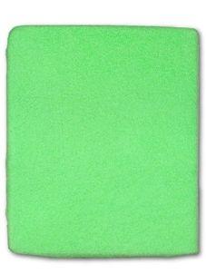 Froté prestieradlo - Zelená