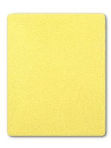 Froté prestieradlo - Žltá