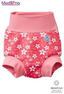 Happy Nappy neoprénové plavky Ružové kvietky