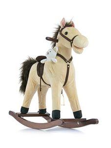 Hojdací koník Milly Mally Mustang bežový - Béžová
