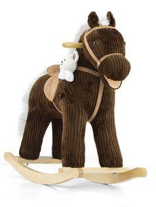 Hojdací koník Milly Mally Pony Bruno - Hnedá