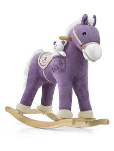 Hojdací koník Milly Mally Pony fialový - Fialová