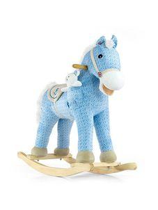 Hojdací koník Milly Mally Pony modrý - Modrá