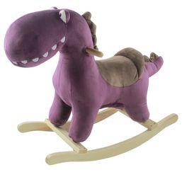 Hojdačka s melódiou dinosaurus Albert Purple Petite&Mars