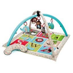 SKIP HOP Hracia deka s hrazdičkami ABC Zoo 0m+