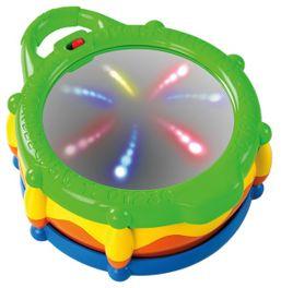 Hračka bubon hudobný a svietiaci Light & Giggle Drum™ 6-36 m