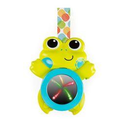 Hračka hudobná závesná so svetlami žaba 0m+
