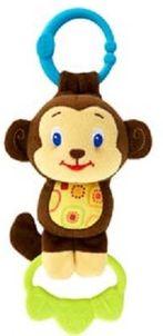 Hračka na C krúžku Tug Tunes 0m+ opica Bright Starts