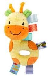 Hračka plyšová hrkálka Taggies 3m+ žirafa
