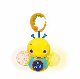 Hračka svietiacia včielka s melódiou na C-krúžku Beaming Buggie™ 0m+ Bright Starts