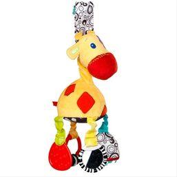 Hrkálka senzorická - žirafa 0m+