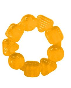 Hryzačka Teethe Around žltá 3m+