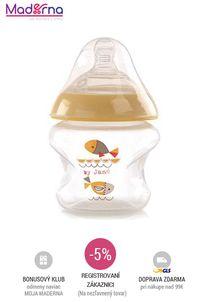 Jane - Antikoliková dojčenská fľaška 150ml