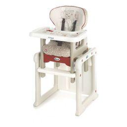 JANÉ - Jedálna stolička Activa Evo S18 béžovo/červená