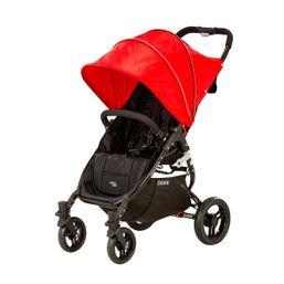 Kočík športový - Valco SNAP 4 BLACK s polohovaním - červený