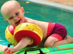 Cherek kolieska na plávanie