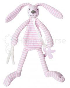 Králiček maznáčik ružový Happy horse