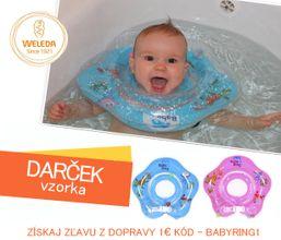 Plávacie koleso pre bábätka 0-36m, 6-36kg Baby Ring