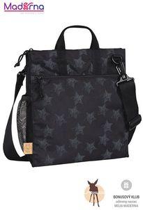 Lassig Casual Buggy Bag Reflective Star black